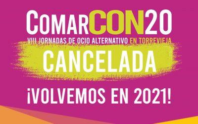 Aplazamiento de La ComarCON'20 por la COVID19