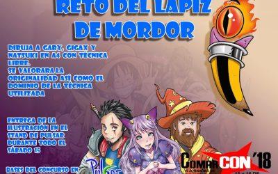 Concurso de ilustración: Reto del lápiz de Mordor